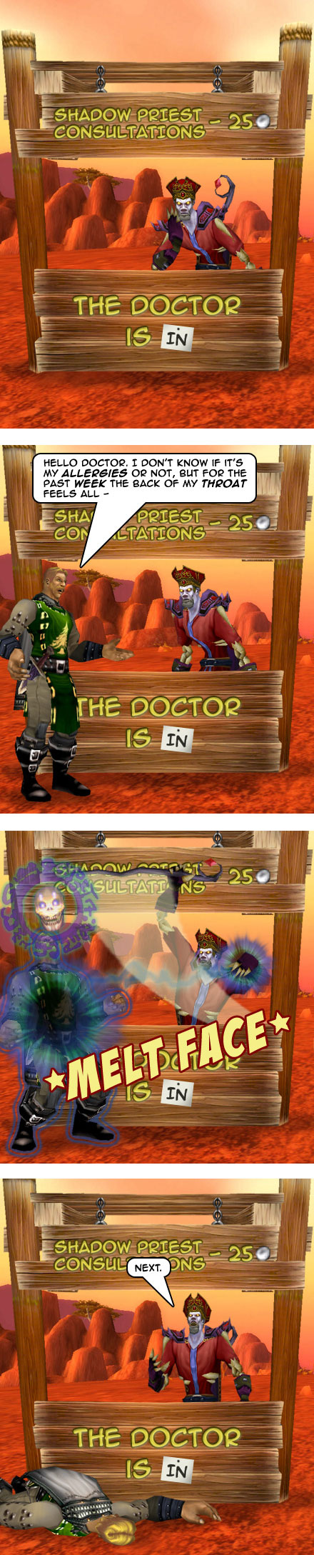 Part 7: Paging Dr. Priest, Paging Dr. Shadow Priest.
