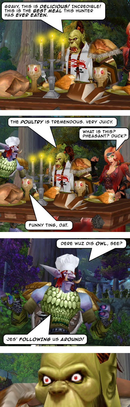 Part 8: Feast of Fowl